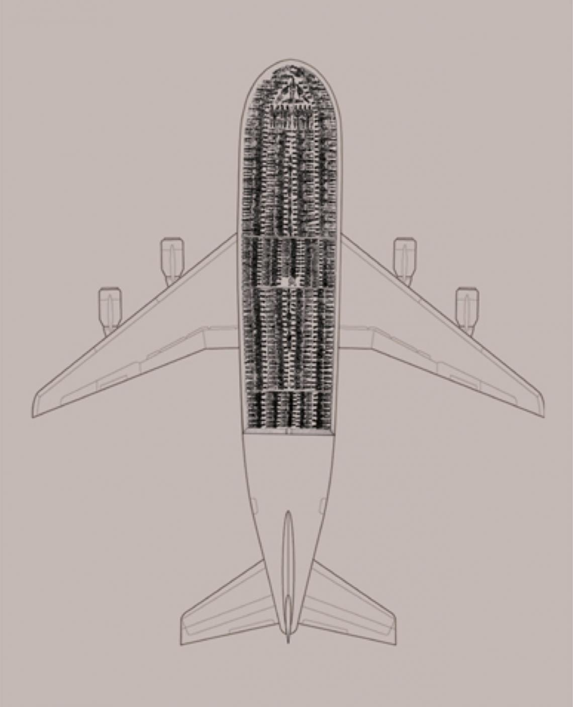 diagram of airplane