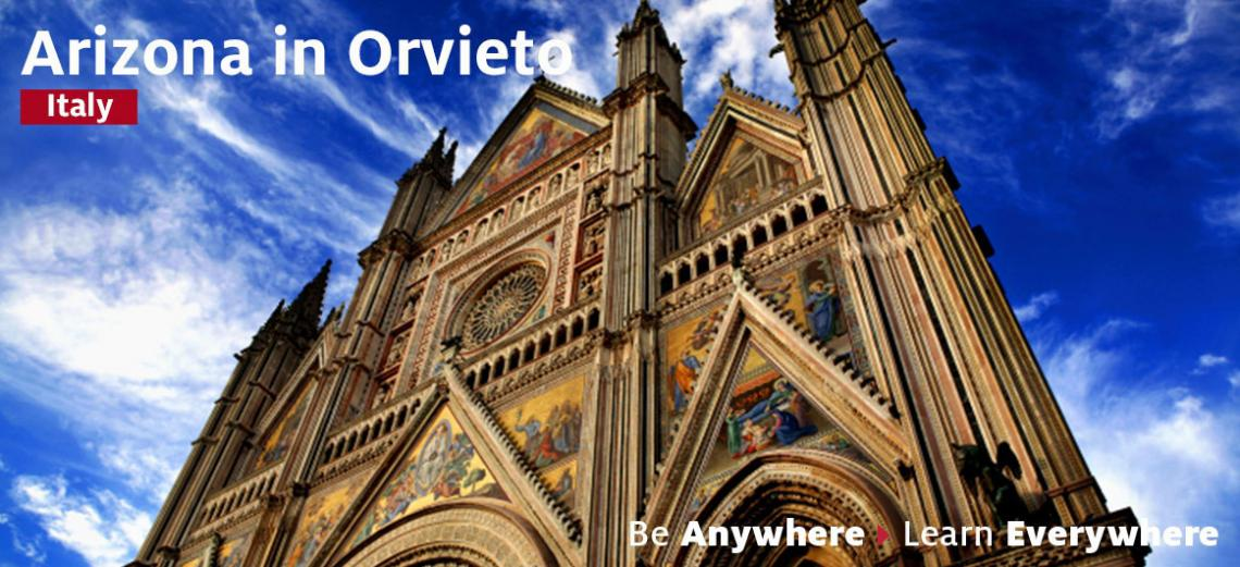 Banner for Arizona in Orvieto study abroad program